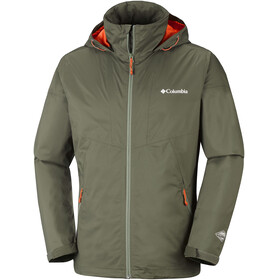 Columbia W's Inner Limits Jacket Peatmoss/Backcountry Orange